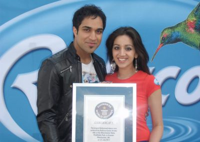 Ria Meera Munshi Guinness World Record